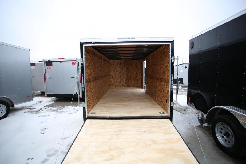 NEW Darkhorse Cargo 7 x 16 Ramp Door Enclosed Cargo Trailer