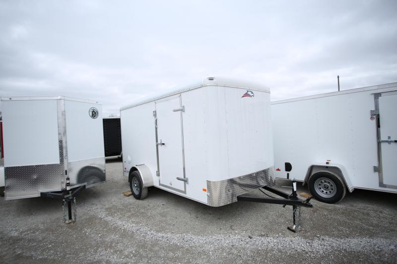 American Hauler 6x12 Enclosed Cargo Trailer