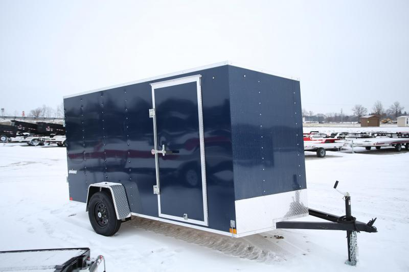 NEW Impact Trailers 6 x 12 Ramp Door Enclosed Cargo Trailer