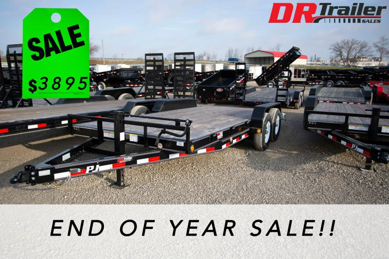 2019 PJ Trailers 18 ft Equipment Trailer