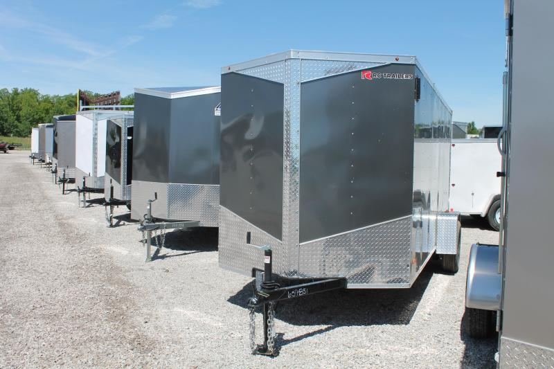 2020 RC Trailers 6'X14' RD Enclosed Cargo Trailer