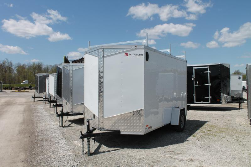 2020 RC Trailers 6' X 12' RD Enclosed Cargo Trailer