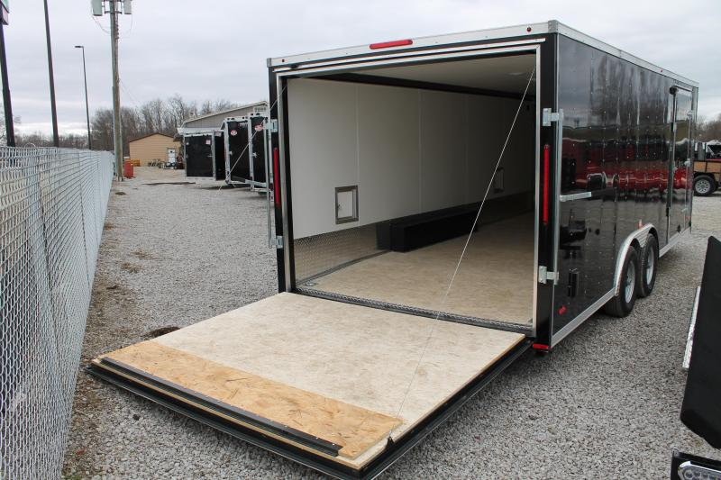 2020 RC Trailers 26' SNOW COMBO Snowmobile Trailer