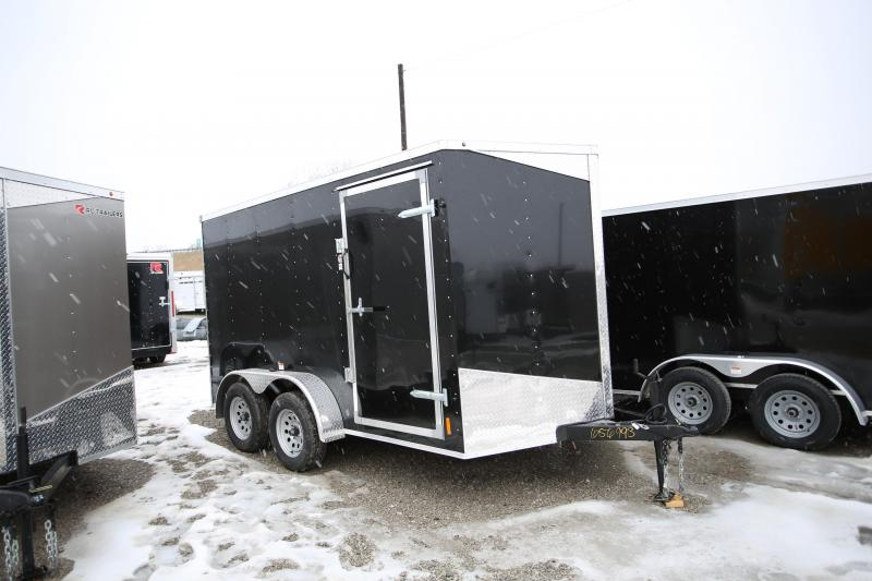 "2020 RC Trailers 7 x 12 + 6"" Ramp Door Enclosed Cargo Trailer"