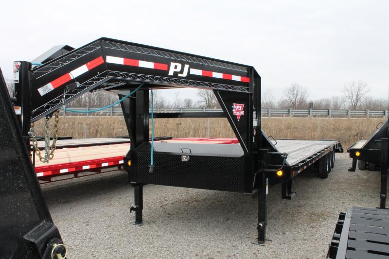 2020 PJ Trailers 32' LS 21K Flatbed Trailer