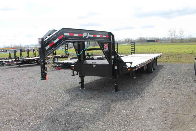 2020 PJ Trailers 30' LY 25K Flatbed Trailer