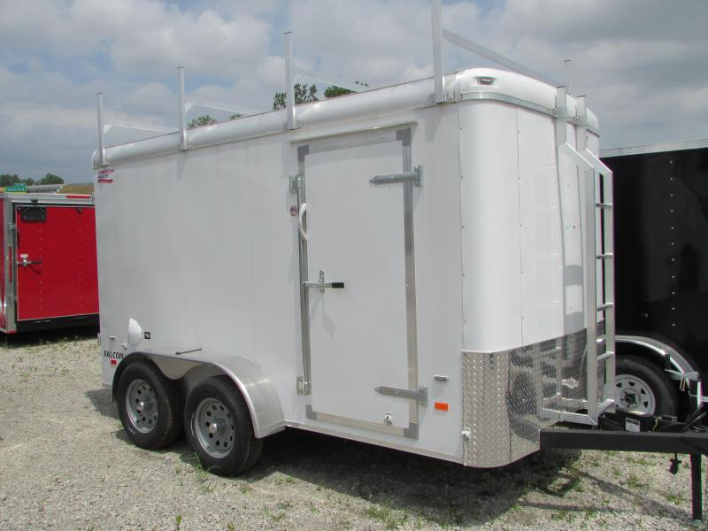 2019 American Hauler Industries 6 X 12 Contractor's Pkg. Enclosed Cargo Trailer