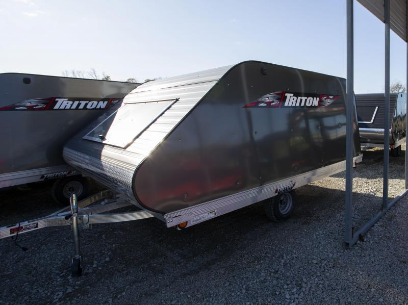 2020 Triton Trailers 11 Tilt Snowmobile Trailer