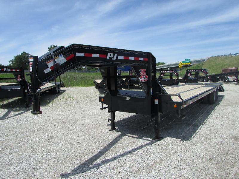 2019 PJ Trailers 32 FT Low Pro Flatbed Trailer
