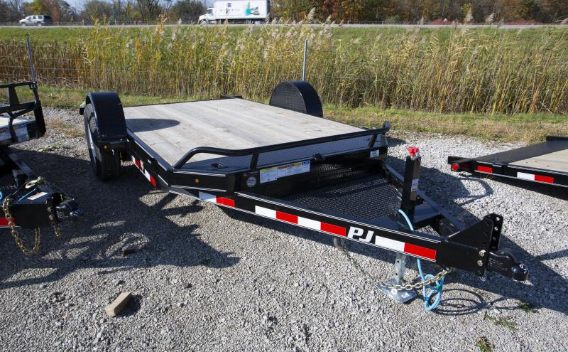 2020 PJ Trailers 13 ft Tilt Equipment Trailer