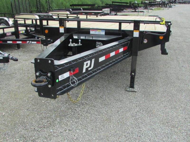 2020 PJ Trailers Equipment Dually Pintle Flatbed Trailer