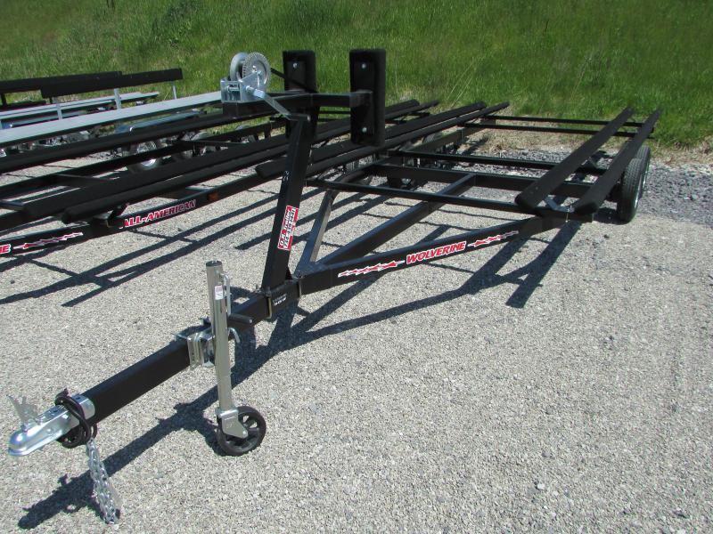Wolverine Trailers 24 Bunk Style Pontoon Boat Trailer