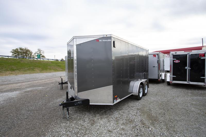 2020 RC Trailers 7 X 14 6 In Double Door Enclosed Cargo Trailer