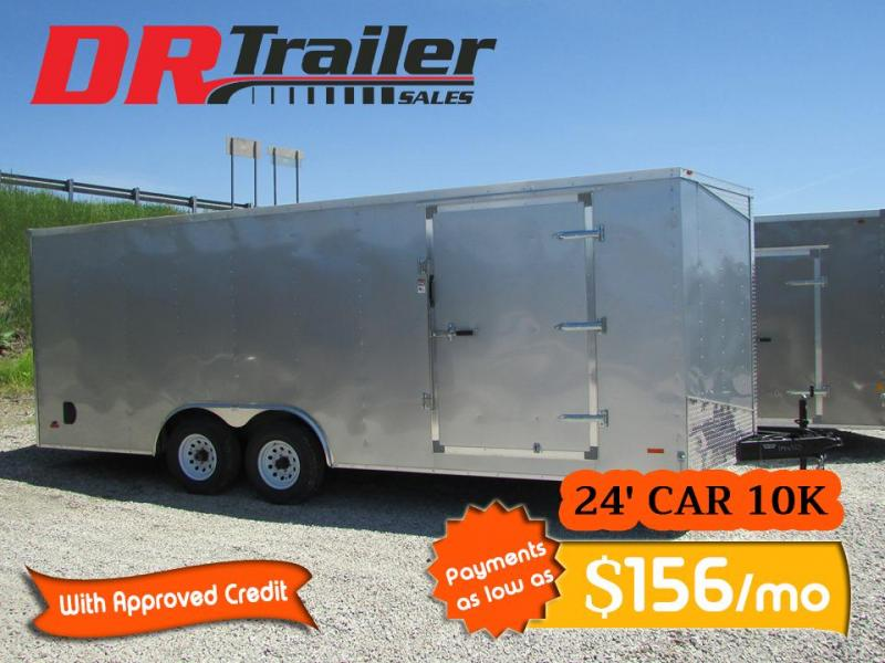 2020 RC Trailers 24 FT Carhauler Enclosed Cargo Trailer