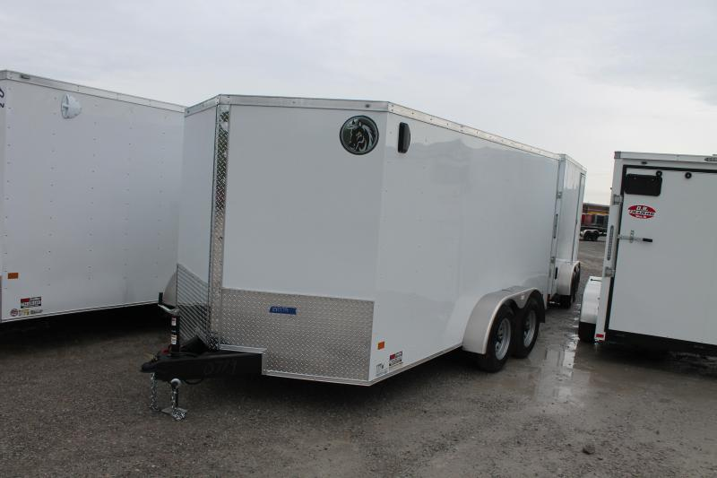 2020 Darkhorse Cargo 7'X14' RD Enclosed Cargo Trailer