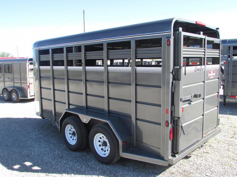 CornPro Trailers 16 Stock Horse Livestock Trailer