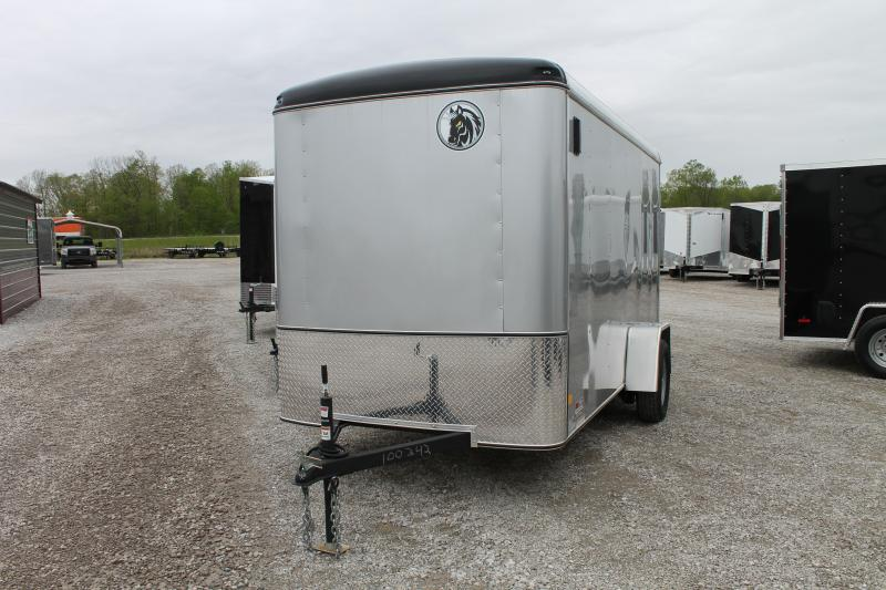 2020 Darkhorse Cargo 6'X12+6 RD Enclosed Cargo Trailer