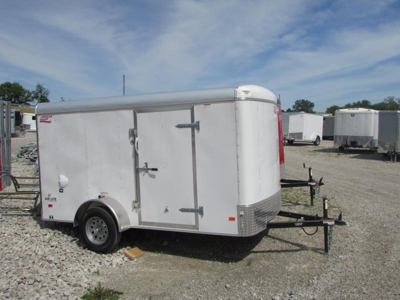 2019 American Hauler Industries AIR LITE 6 X 12 Enclosed Cargo Trailer