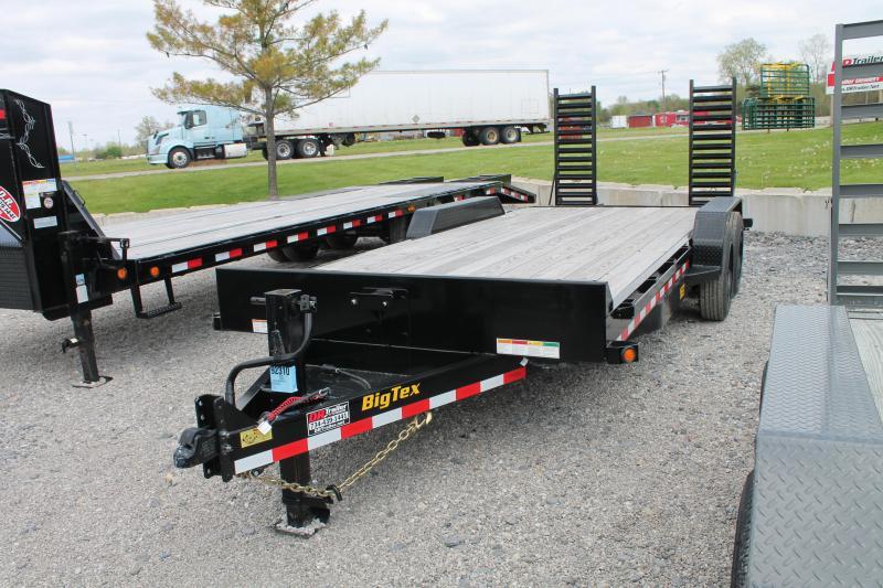 Big Tex Trailers 20 ft Equipment Trailer