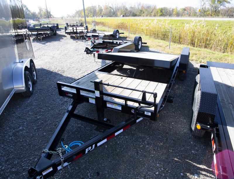 2020 PJ Trailers 20 ft Tilt Equipment Trailer