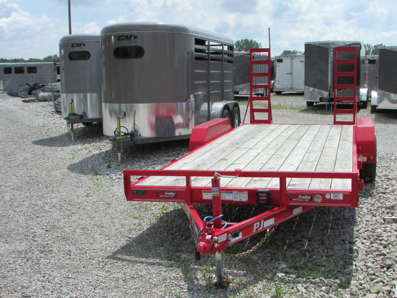 2019 PJ Trailers 20 ft Equipment Trailer