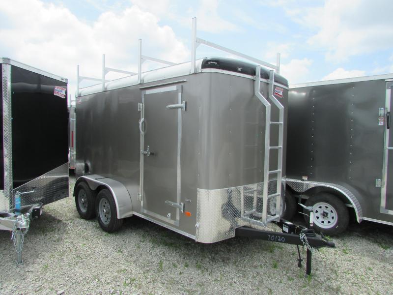 2019 American Hauler Industries 6 X 12 Contractor's Enclosed Cargo Trailer