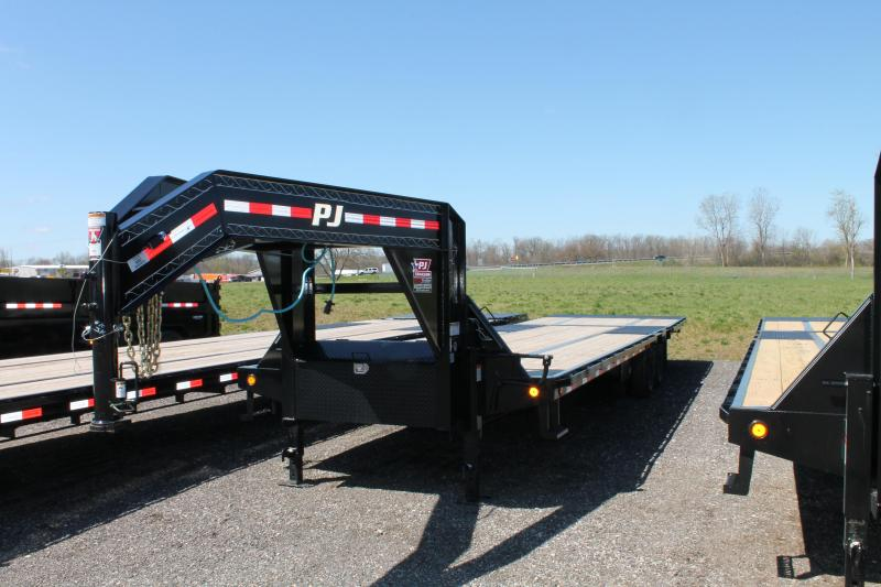 2020 PJ Trailers 34' LY 25K Flatbed Trailer