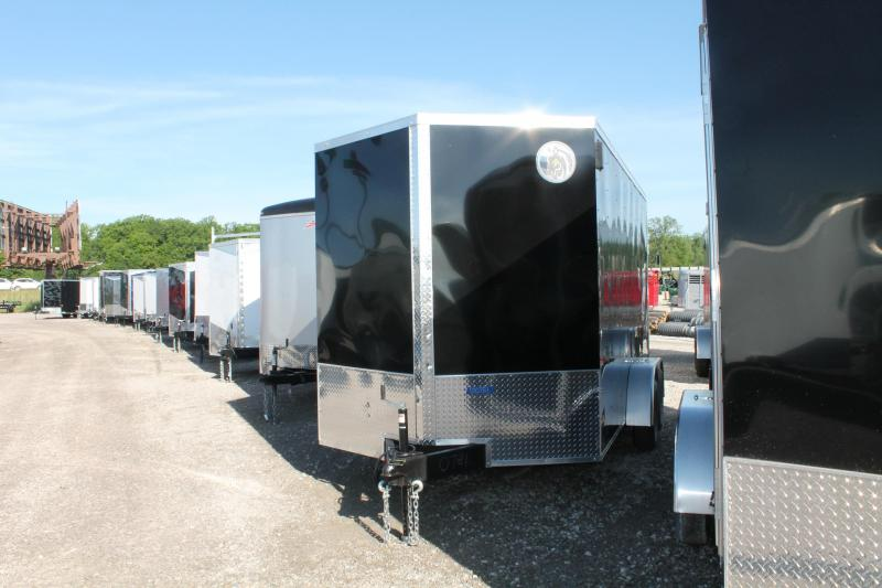 "2020 Darkhorse Cargo 7'X12' + 12"" RD Enclosed Cargo Trailer"