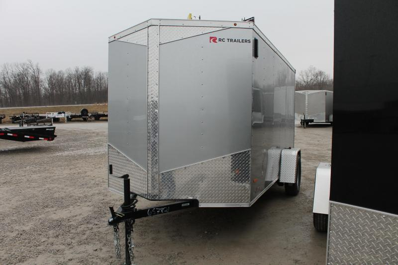 2020 RC Trailers 6'x12' RD Enclosed Cargo Trailer