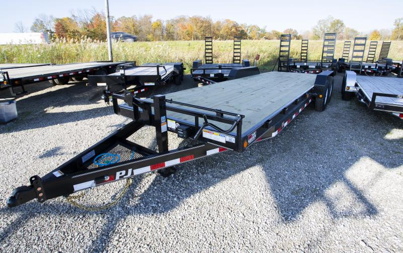2020 PJ Trailers 24ft Equipment Trailer