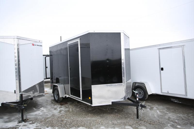 "2020 Darkhorse Cargo 6 x 12 + 12"" Ramp Door Enclosed Cargo Trailer"