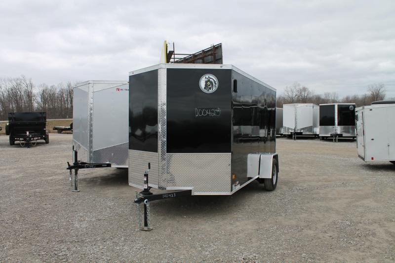 2020 Darkhorse Cargo 6'x12' RD Enclosed Cargo Trailer