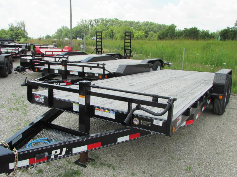 2019 PJ Trailers 20 ft Heavy Duty Carhauler Equipment Trailer