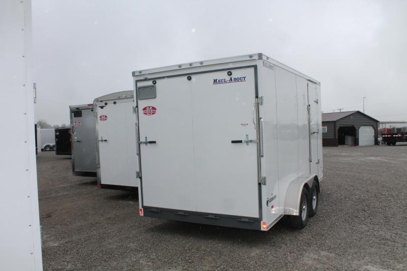 "2020 Haul-About 7'X14' + 6"" RD Enclosed Cargo Trailer"