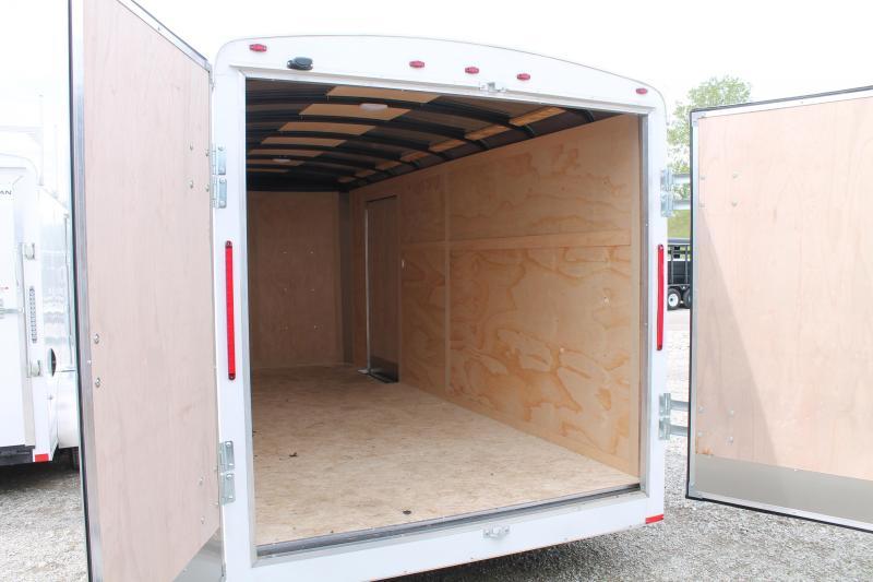 2019 RC Trailers 7'X16' DD Enclosed Cargo Trailer