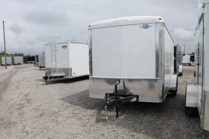 2019 RC Trailers 7'X16' DD Enclosed Cargo Trailer