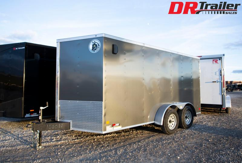 2020 Darkhorse Cargo 7 x 14 Ramp Door Enclosed Cargo Trailer