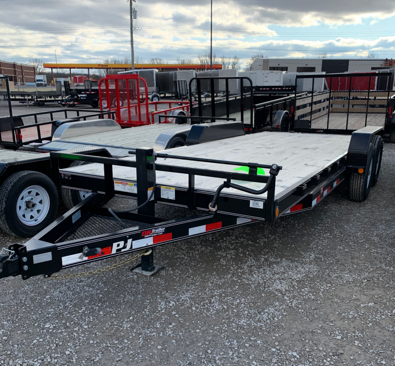 2019 PJ Trailers 20ft Carhauler Equipment Trailer