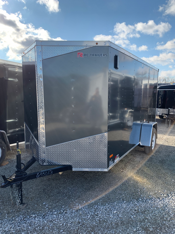2020 RC Trailers 6 x 12 Ramp Door Enclosed Cargo Trailer