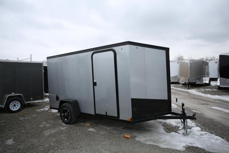 NEW Impact Trailers 6 X 12 Ramp Door Enclosed Cargo Trailer