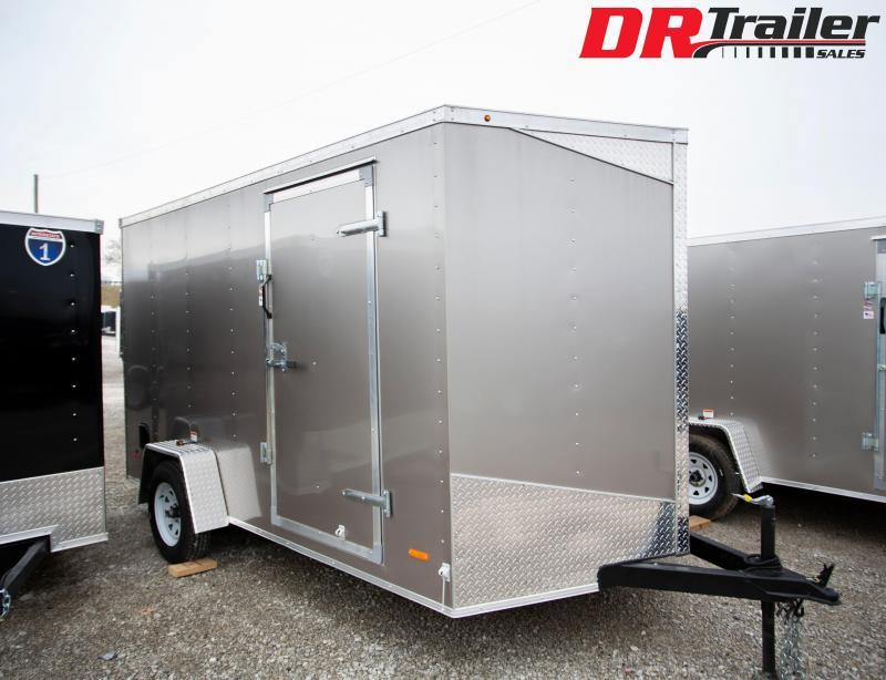 2020 RC Trailers 7 X 12 Enclosed Cargo Trailer