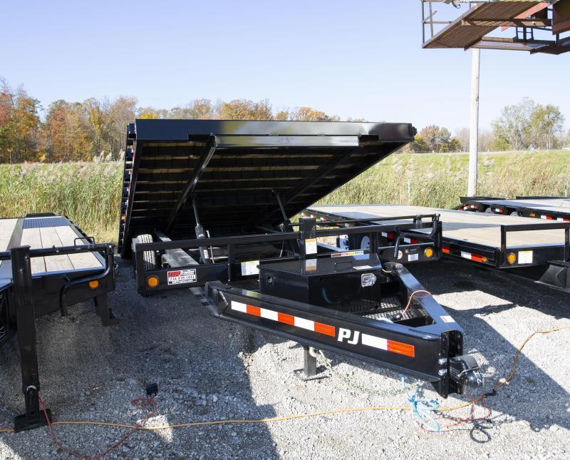 2020 PJ Trailers 22ft Tilt Equipment Trailer