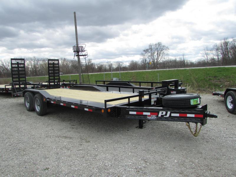 PJ Trailers 22 Heavy Duty 20k Equipment Trailer