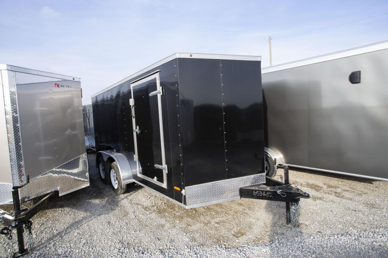 2020 RC Trailers 7 x 14 Ramp Door Enclosed Cargo Trailer