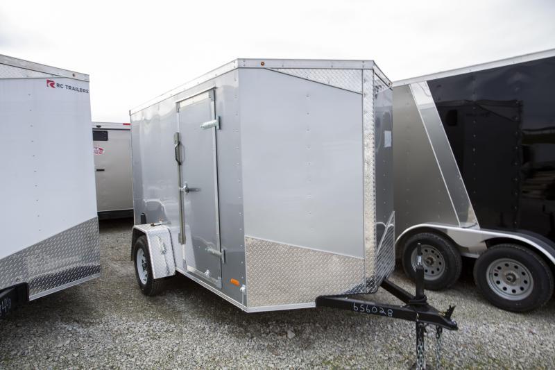 2020 RC Trailers 6 x 10 Ramp Door Enclosed Cargo Trailer