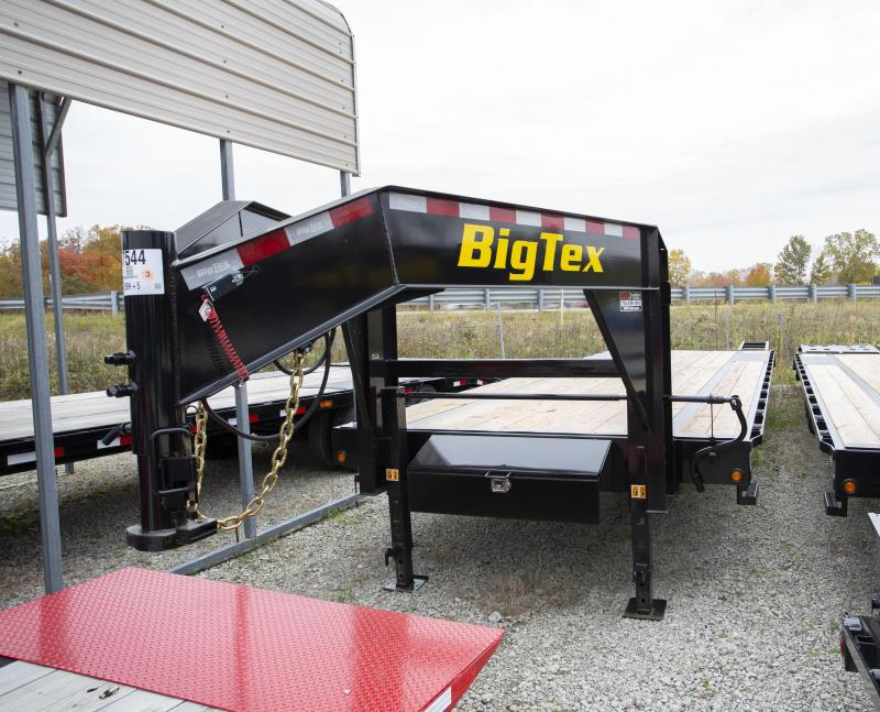 2020 Big Tex Trailers 30 2 Ramp Gooseneck Flatbed Trailer