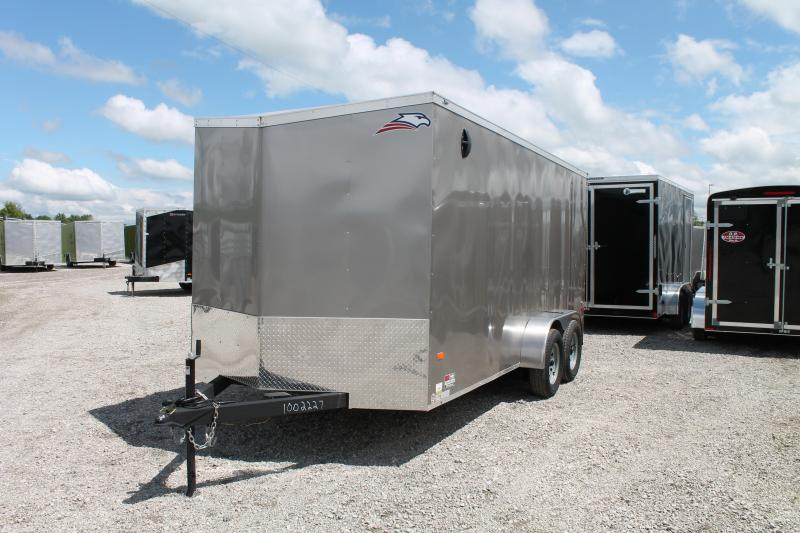 2020 American Hauler 7'X16' RD Enclosed Cargo Trailer