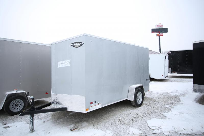 NEW Impact Trailers 6 x 12 Enclosed Cargo Trailer