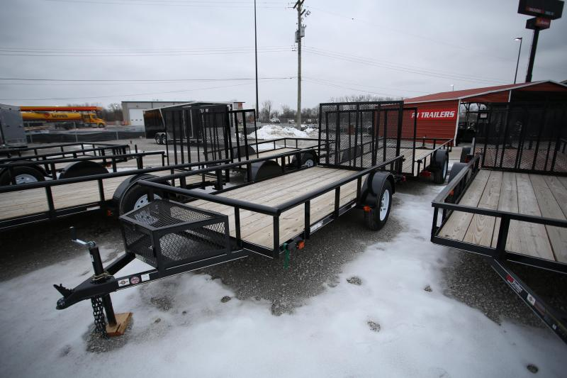 NEW Carry-On 5 x 12 Ramp Gate Utility Trailer