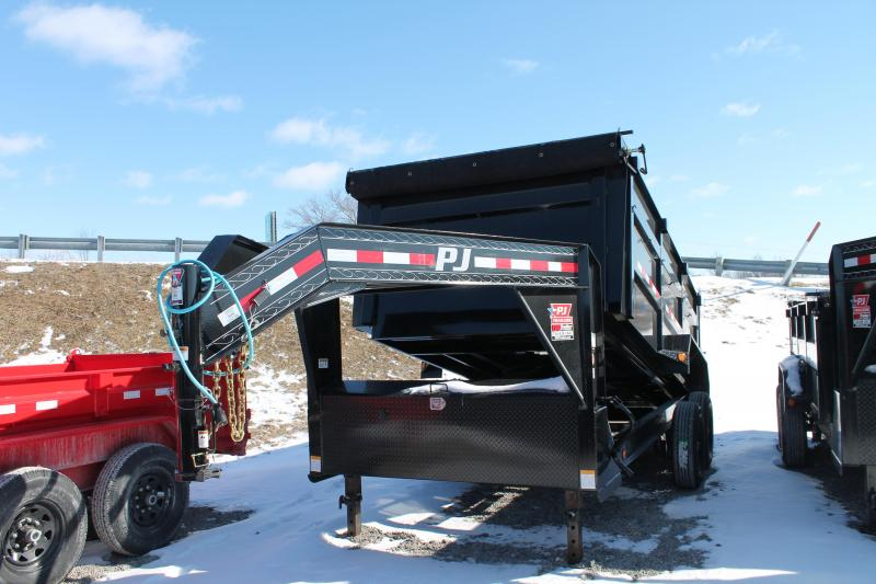 "2020 PJ Trailers 14""DM GN Dump Trailer"